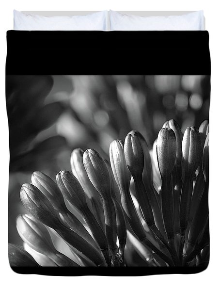 Agave Buds Duvet Cover