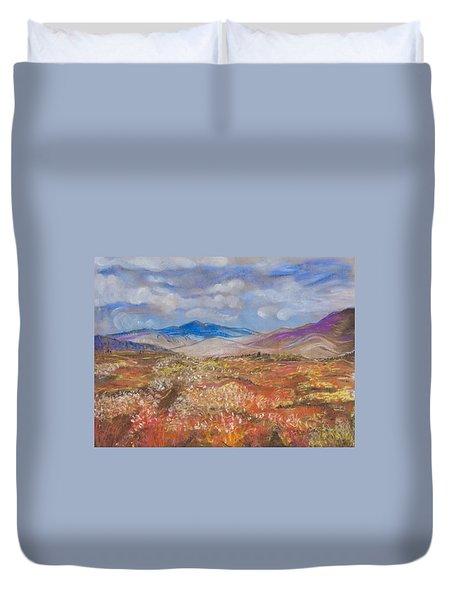 Alaskan Meadow Duvet Cover