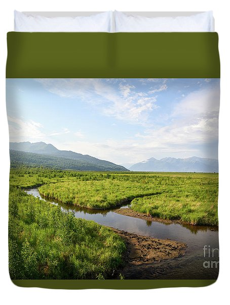 Alaskan Valley Duvet Cover