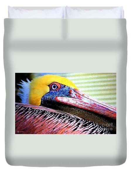 Albatross King Duvet Cover