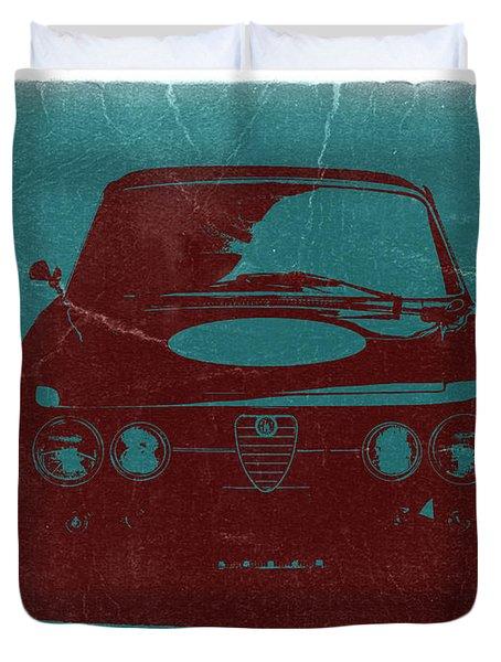 Alfa Romeo Gtv Duvet Cover