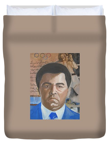 Ali Duvet Cover by Nigel Wynter