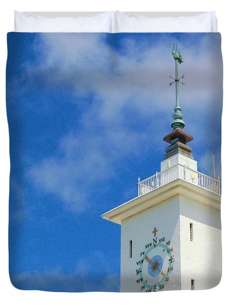 All Along The Watchtower Duvet Cover by Debbi Granruth