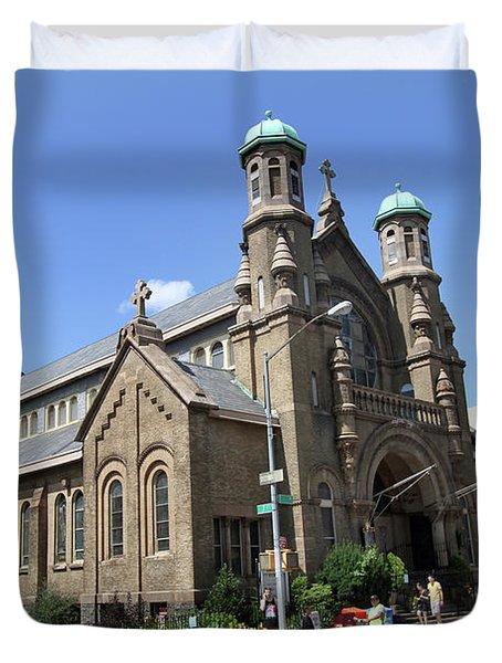 All Saints Episcopal Church Duvet Cover