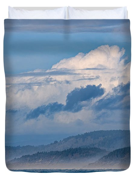 Along The Coast Duvet Cover
