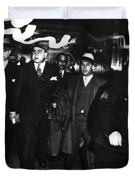 Alphonse Capone (1899-1947) Duvet Cover