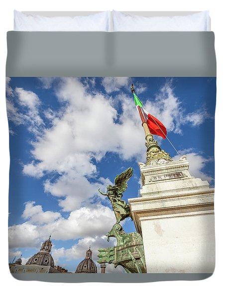 Altare Della Patria Roma Duvet Cover