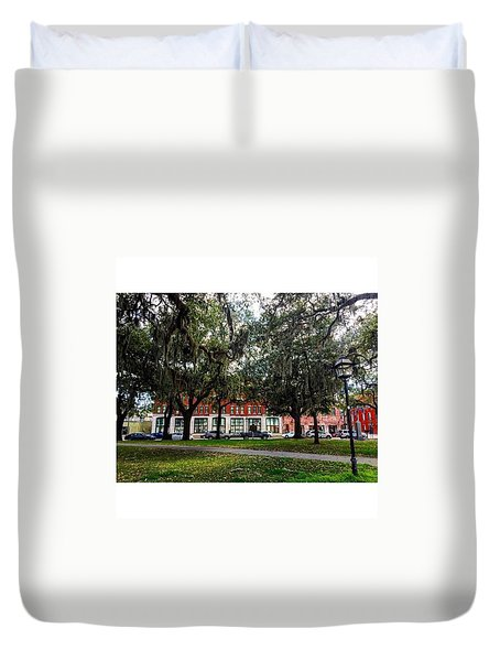 Georgia On My Mind Duvet Cover