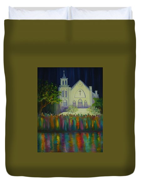 Amazing Grace Duvet Cover