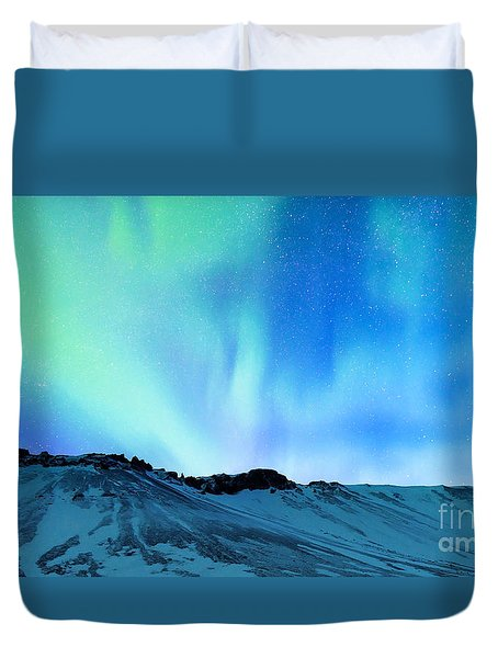 Amazing Northern Light Duvet Cover