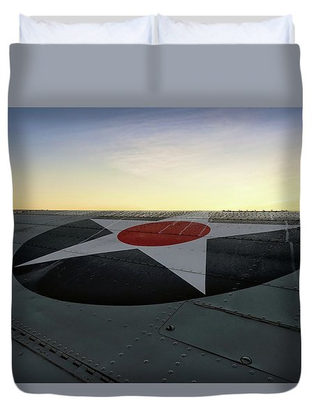American Morning Duvet Cover
