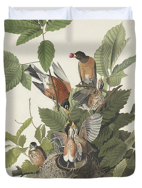 American Robin Duvet Cover