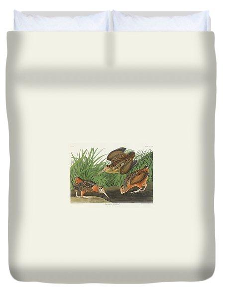 American Woodcock Duvet Cover