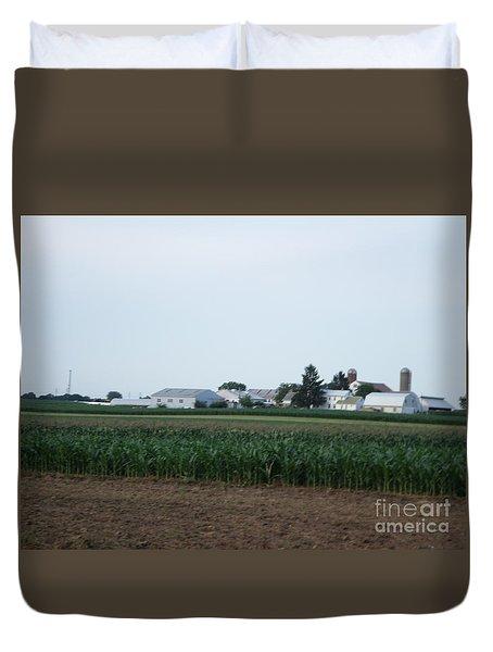 Amish Homestead 9 Duvet Cover