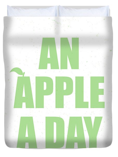 An Apple A Day Duvet Cover