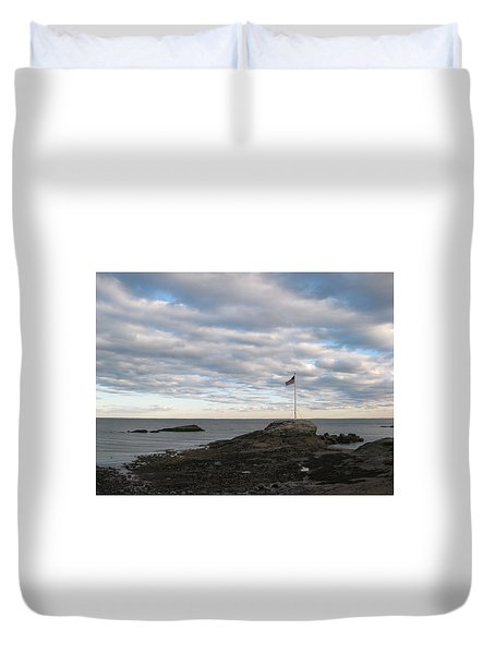 Anchor Beach Duvet Cover