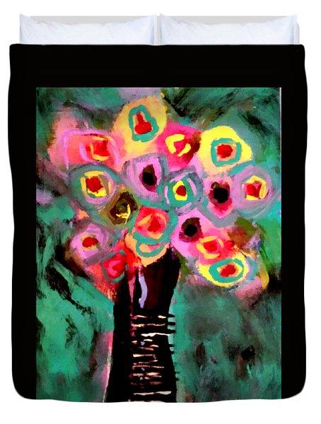 Anemones Duvet Cover