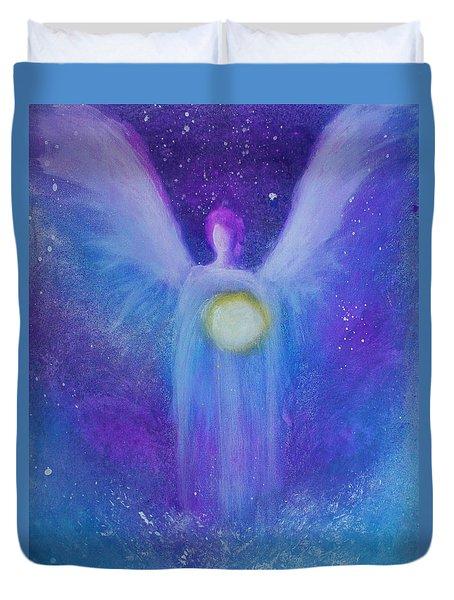 Angel Light Duvet Cover