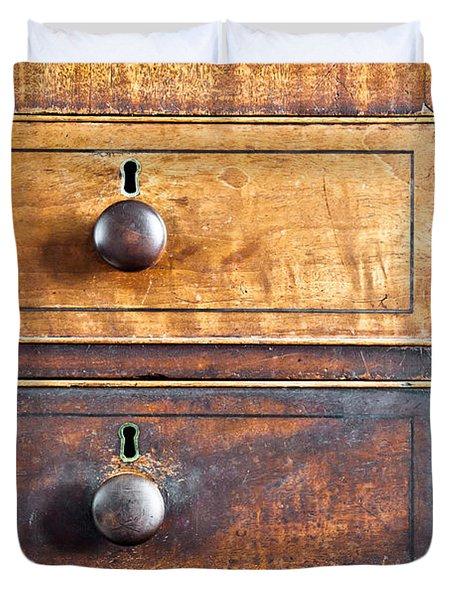Antique Furniture Duvet Cover