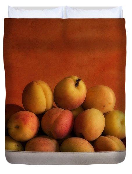 Apricot Delight Duvet Cover by Priska Wettstein
