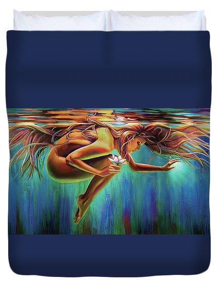 Aquarian Rebirth Duvet Cover
