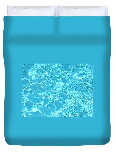Aquatica Duvet Cover by Maria Bonnier-Perez