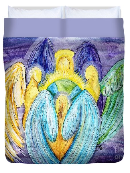 Archangels Duvet Cover