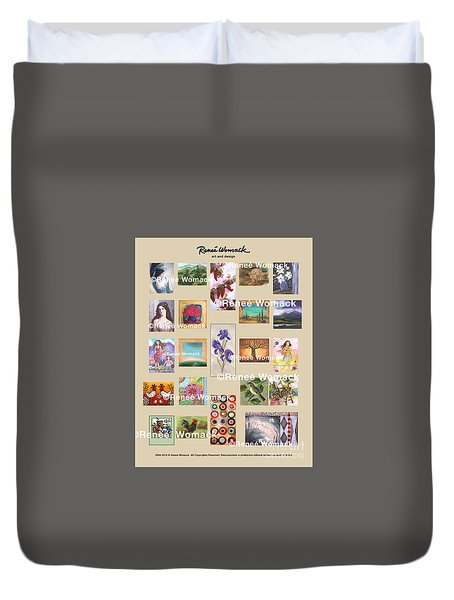 Art Collection Duvet Cover