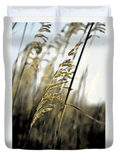 Artistic Grass - Pla377 Duvet Cover