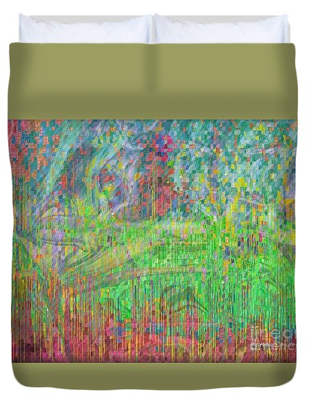 As The Wind Blows Duvet Cover
