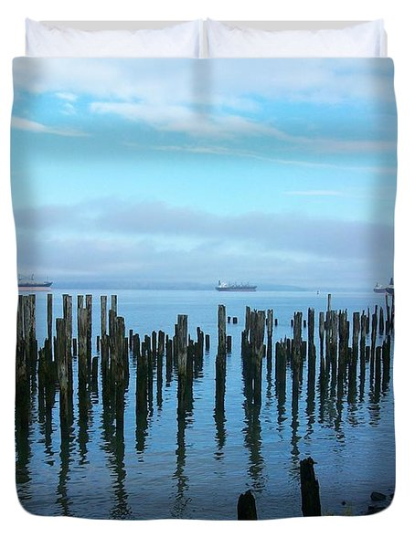 Astoria Ships II Duvet Cover