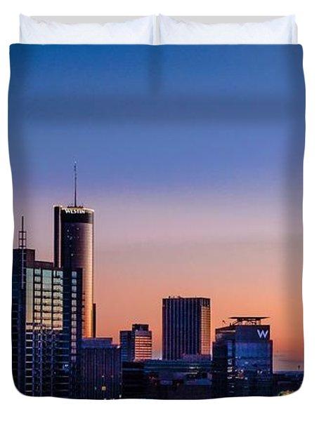 Atlanta Sunset Duvet Cover