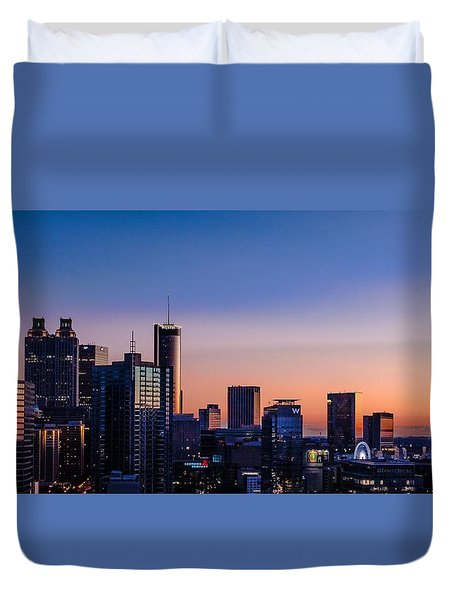 Atlanta Sunset Duvet Cover