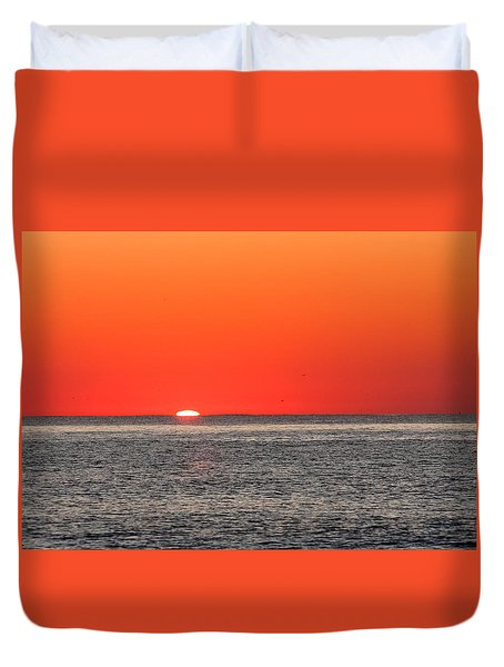 Atlantic Sunrise Duvet Cover