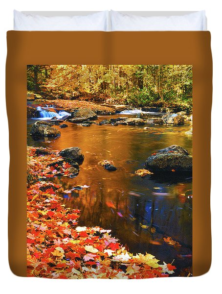 Autumn Afternoon Duvet Cover