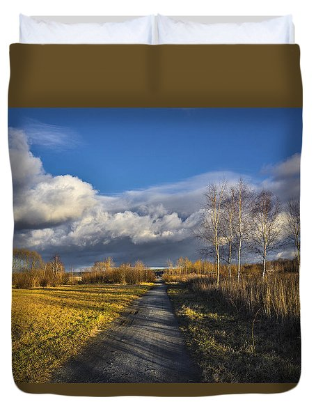 Autumn Evening Duvet Cover