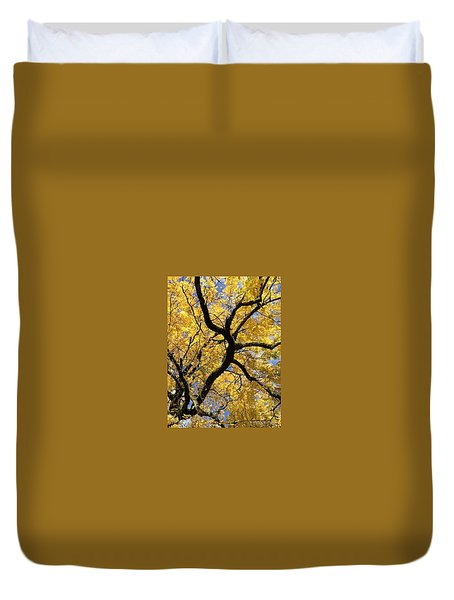 Autumn Gold Duvet Cover