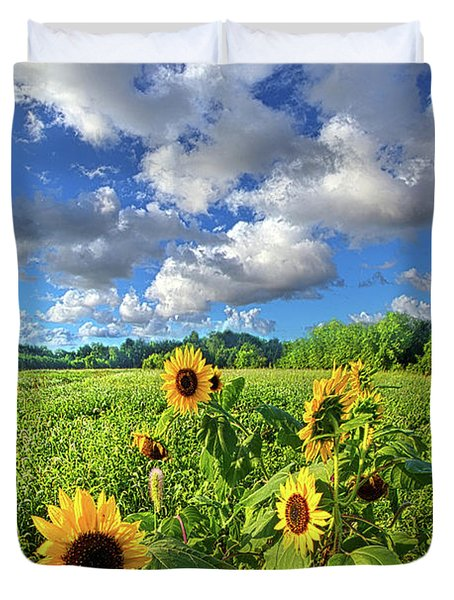 Autumn Is Near Duvet Cover