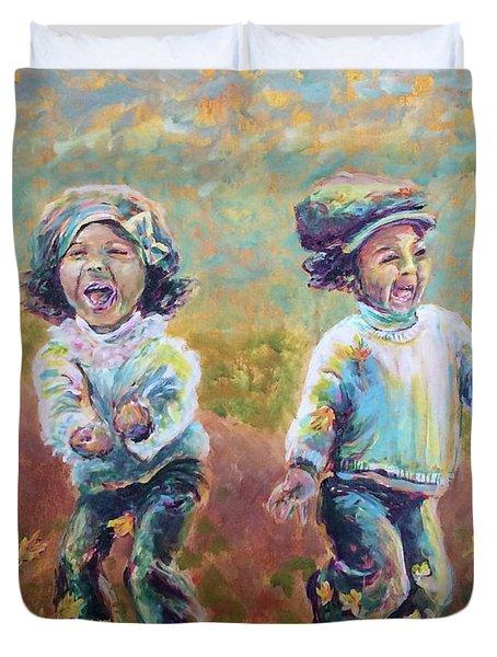 Autumn Joy Duvet Cover