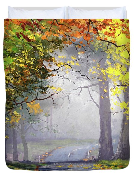 Autumn Mt Wilson Duvet Cover