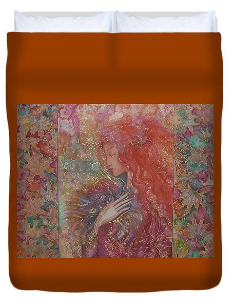 Autumn Duvet Cover by Rita Fetisov