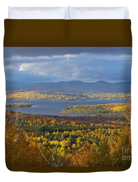 Autumn Splendor Duvet Cover by Alana Ranney