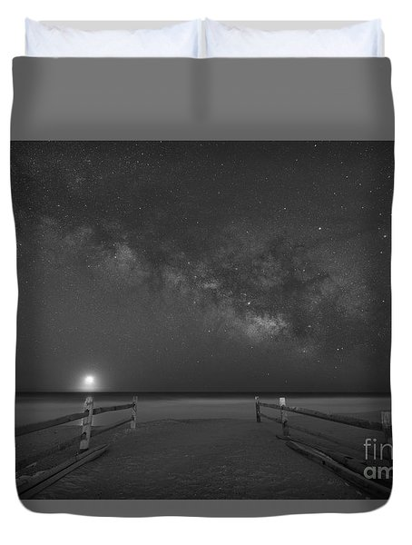 Avalon New Jersey Milky Way Rising  Duvet Cover