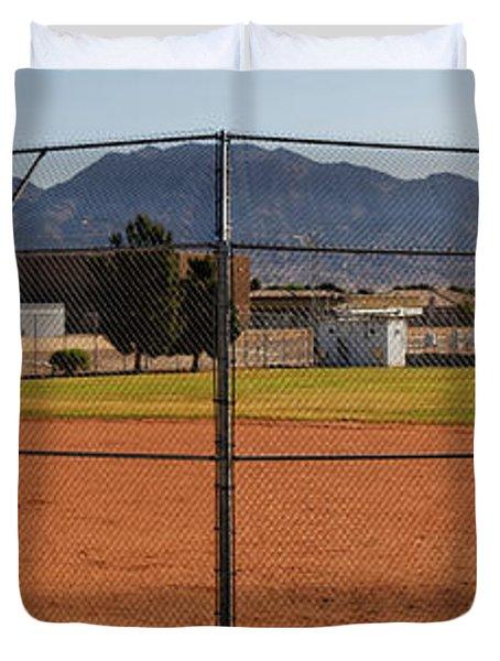 Away Game Duvet Cover