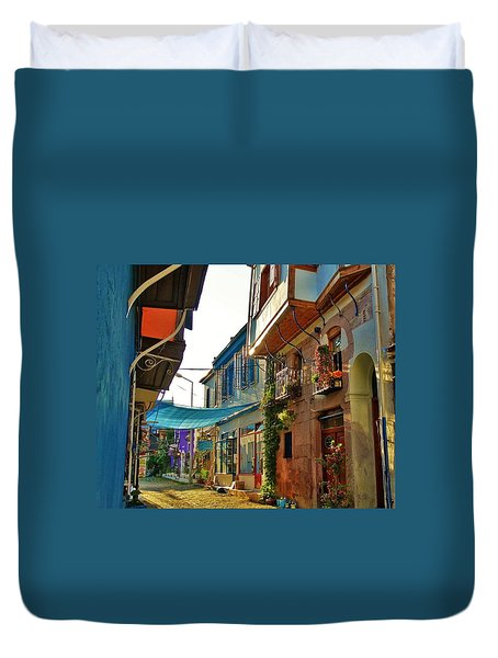 Ayvalik Turkey Duvet Cover