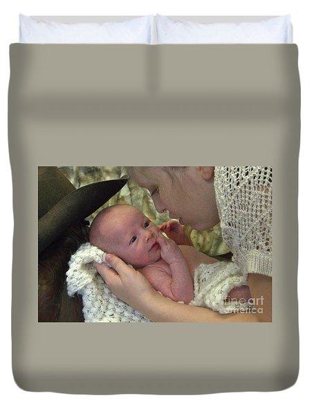 Baby Hughes Duvet Cover