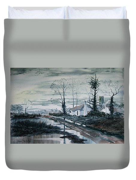 Back To Life Duvet Cover