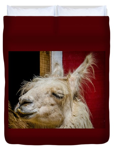 Duvet Cover featuring the photograph Bad Hair Day 3 by Kathleen Scanlan