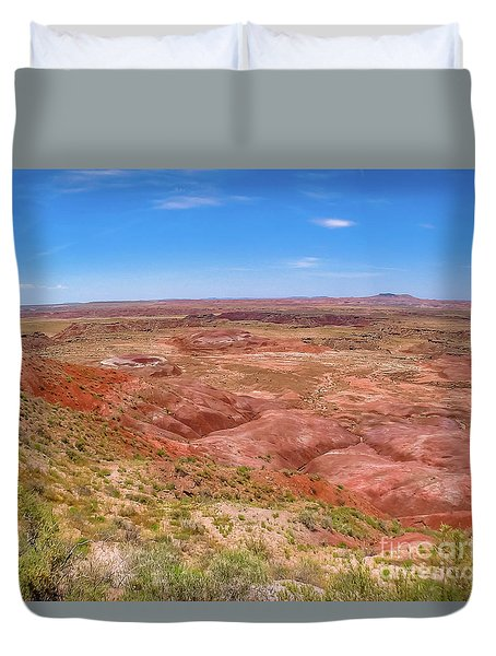Badlands South Dakota Duvet Cover