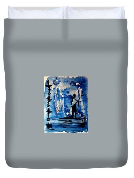 Badsurfer  Duvet Cover